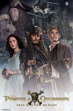 New posters emerge for Pirates of the Caribbean: Salazar's Revenge