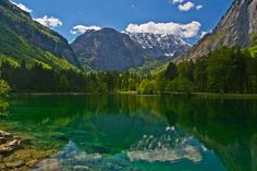 https://flic.kr/p/HbUxH2 | The Bluntau lake and the Schneibstein (2276 m). | Another beauty spot just a couple kilometers west of Golling an der Salzach, Tennengau, Salzburg Land, Austria. Photo taken on May 8th, 2016.