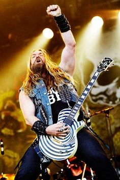 Zakk Wylde, Black Label Society - Hellfest 2011 by Ronan Thenadey