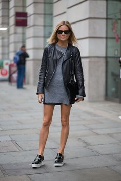 a London girl,  Mod style meets urban cool.
