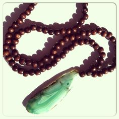 Gage Huntley Agate Mala Necklace//gagehuntley.com
