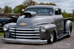 1950 Chevy Pickup! Whether you're interested in restoring an old classic car or you just need to get your family's reliable transportation looking good after an accident, B & B Collision Corp in Royal Oak, MI is the company for you! Call (248) 543-2929 or visit our website www.bandbcollision.com for more information!