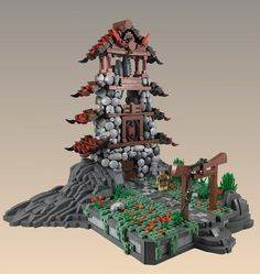 Find your inner LEGO peace on the mountain summit