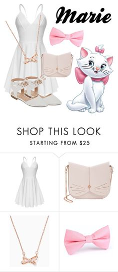 """Marie disneybound"" by isabellefadel ❤ liked on Polyvore featuring Ted Baker, Kate Spade and GC Shoes"