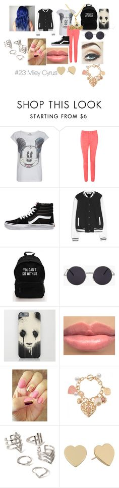 """""""#23"""" by niallypotatoes ❤ liked on Polyvore featuring Paul & Joe Sister, Jane Norman, Vans, MANGO, Ultimate, Rad Nails, Forever 21, Kate Spade and Disney Couture"""