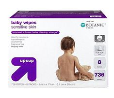 Upup Sensitive Baby Wipes Refill Pack  736 Ct >>> You can get additional details at the image link.-It is an affiliate link to Amazon.