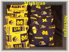 Cornhole bean bags University of Michigan by thisandthatbyv, $24.99 (CHECK OUT MY OTHER BOARDS FOR MORE CORNHOLE ITEMS)  Set of 8 Cornhole bags $25.00. Cornhole bags are regulation size and weight and filled with whole feed corn. made out of 12oz. duck cloth material. I guarantee them not to break. They are sized 6x6 and filled to be between 15.6 oz. and 16.0oz. The product guarantee information will be included in the shipping box. You will receive 4 bags of one style and 4 bags of the…