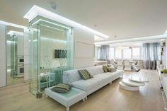 Sala blanca bellísima