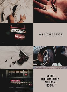 """dandellio-n: """"""""character aesthetic // dean winchester from supernatural """" """""""