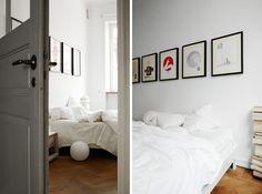 Un piso sueco con bonitos detalles