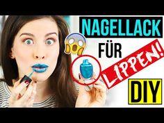 KRASSES DIY: NAGELLACK für deine LIPPEN! GENIALES ERGEBNIS im LIVE TEST | 2 METHODEN PRANK/FAIL DIY - YouTube