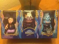 Disney D23 2013 Expo Exclusive Little Mermaid Ursula Vinylmation 3 Pack Set