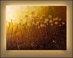 "peaceful paintings | My Peaceful Place"" - Abstract Painting 