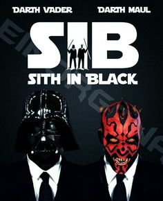 THE SITH IN BLACK