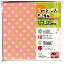 """Fashionable Chiyogami Origami Megapack, 5 7/8"""""""