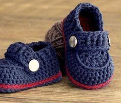 Sapatinho de Bebê de crochê com gráficos (Passo a passo) | Na Internet