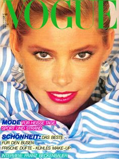 Kelly Emberg  -  Vogue Germany  May 1980