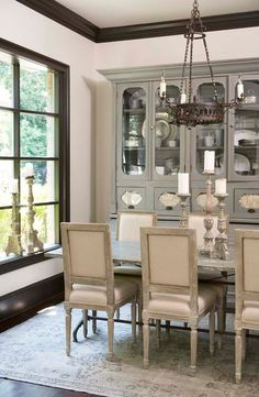 City: McDougald Residence - traditional - dining room - charleston - by Linda McDougald Design | Postcard from Paris Home