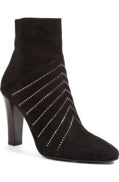 f29ee5f4fdb Saint Laurent  Lily  Pointy Toe Bootie (Women) available at. Autumn BootsBlack  SilverShoe ...