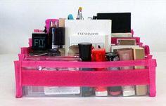 7 piece Cosmetic Bag is coming soon to www.Totally-Tiffany.com!! #makeup #travel #makeupbag #organization #cosemetics #totallytiffany
