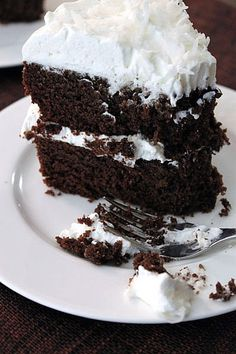 Coconut Flour Chocolate Cake (gluten-free) - can switch out some ingredients to make it Paleo