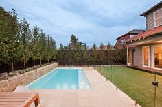 Contemporary family pool and landscape - contemporary - Pool - Melbourne - Neptune Swimming Pools