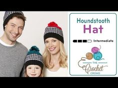 How to Crochet A Hat: Houndstooth Stitch