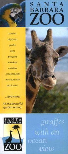 Santa Barbara Zoo!  #SantaBarbaraHoliday