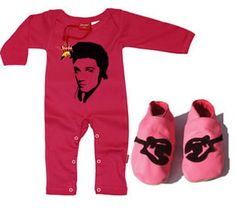Newborn Baby Gift Set: Rock n Roll Gift Set (Pink)