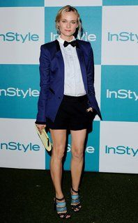 Diane Kruger is on point with that bow tie