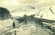 Nordland fylke Narvik Ofotbanen ved Riksgrensen med Vassitjokko i bakgrunden tidlig 1900-tall Utg NK
