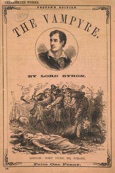 Polidori's the Vampyre  by Lord Byron