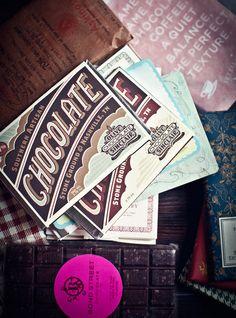 Vintage Chocolate Packaging