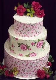 Image result for shabby chic wedding cakes
