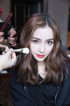 Angelababy Goes Inside Dior's Grand Fall 2018 Show