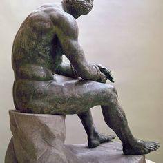 Rome Boxer Sculpture by Granger History Cartoon, 1st Century, Boxer, Design Inspiration, Bronze, Sculpture, Wall Art, Artist, Artwork