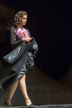 Abrigo y vestido de Lunatic
