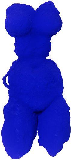 Yves Klein Vénus bleue (S 12), 1962, Tachisme, International Klein Blue, Time Based Art, Nouveau Realisme, Yves Klein Blue, Blue Shades Colors, Art Informel, Art Pierre, Medieval Paintings