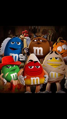 M and m halloween