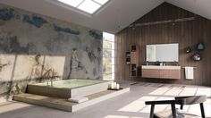 Modern bathroom render by Lell from Blenderartists