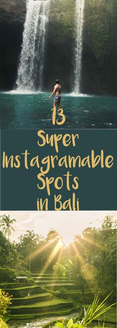 The most instagramable locations in Bali