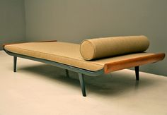 clean lined day bed