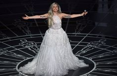 """Lady Gaga took the stage at the 2015 Academy Awards to mark the 50th anniversary of the beloved musical """"Sound of Music"""" -- and she definitely didn..."""