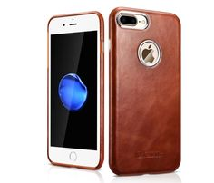 For phone7 7Plus Luxury Slim Genuine Leather Case For Apple Iphone 7/7 Plus Capa Case Original Phone Cases Bag  Back Cover Shell