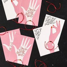 Heart Bracelet Valentine Kit (Set of – The House That Lars Built Bracelet Box, Heart Bracelet, Proyectos Cricut Explore, Disney Jewelry, Jewelry Packaging, Wall Design, Diy Gifts, Valentines Day, Branding Design