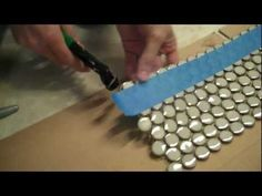 how to tile a backsplash (with good info on cutting small tiles)