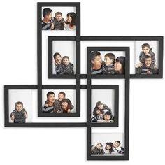Modern Wall Collage Frames 43 Rectangular Interwoven Wall Picture Frames for Multiple Wall Collage Picture Frames, Family Photo Frames, Frames On Wall, Picture Wall, Pic Collage Ideas, Frame Collages, Family Collage, Collage Pictures, Photo Wall
