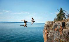 Besten Plätze zum Klippenspringen - best places for cliff-diving