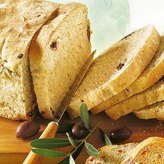 Fetabrot mit Oliven - Rezept für den Brotbackautomat Rezept   Küchengötter