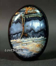"""Pictorial Agate """"Duet"""""""
